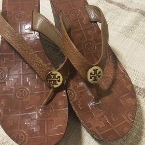 Tory Burch Wedge flip flop